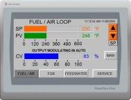 LE Low Nox Gas Burner Allen-Bradley CCS