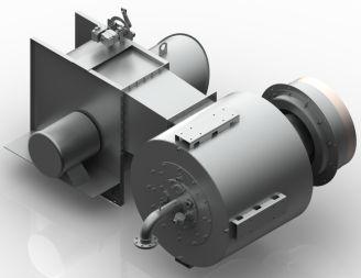 LxE Low Nox Burner Remote Fan